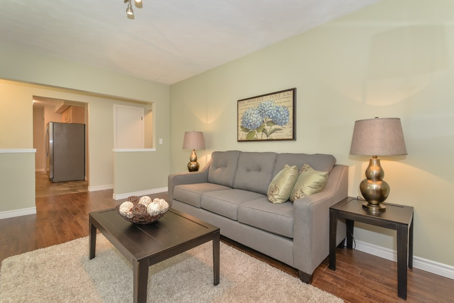 Living room at 214 Alma St - Bungalow in Guelph