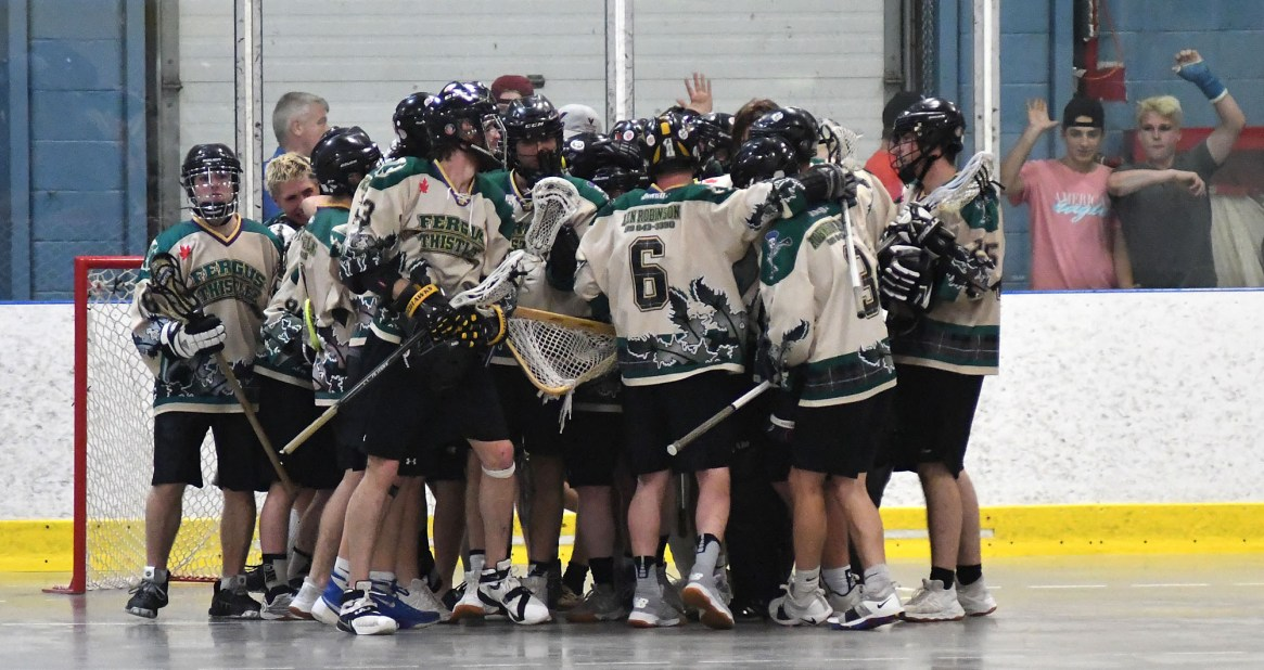 Fergus Thistles rally in third for West Division crown