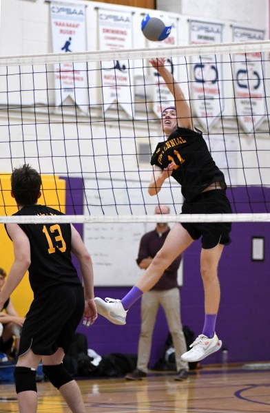 Photos: Centennial-Bishop Macdonell senior boys' volleyball