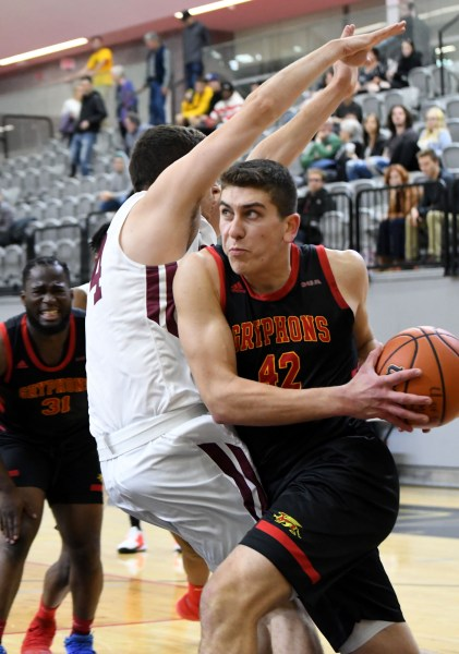 Photos: Guelph Gryphons-Concordia men's basketball