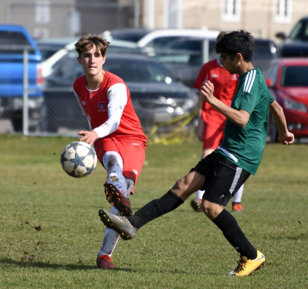Photos: Guelph CVI-Orangeville junior boys' soccer