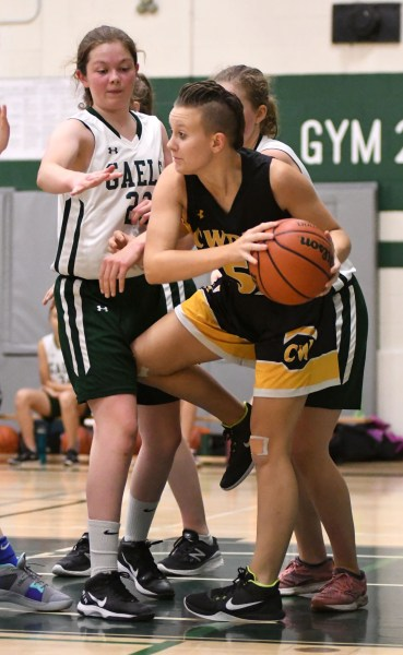 Photos: Centre Wellington-Guelph CVI senior girls' basketball