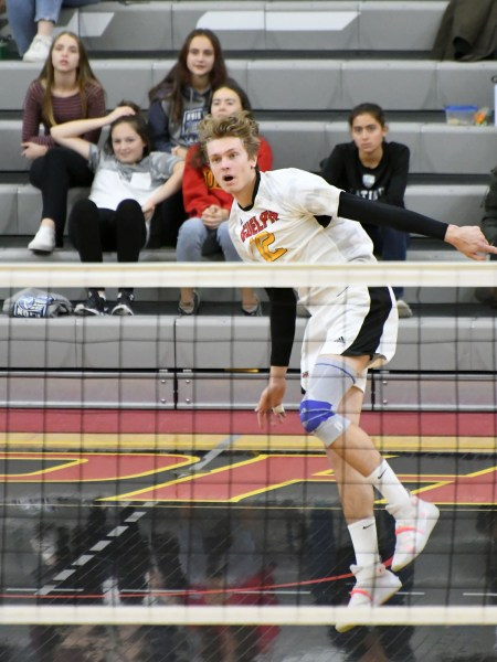 Photos: Guelph Gryphons-Western men's volleyball