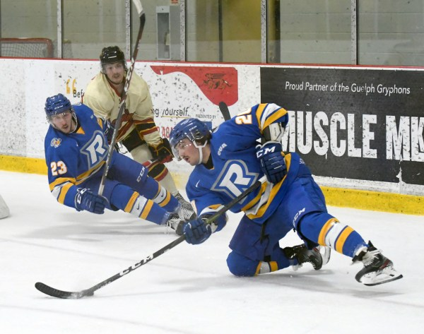 Photos: Guelph Gryphons-Ryerson men's hockey