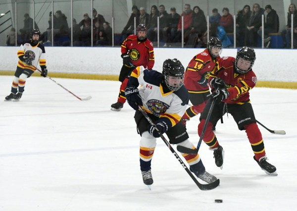 Photos: Junior Gryphons midget DS vs. Central York