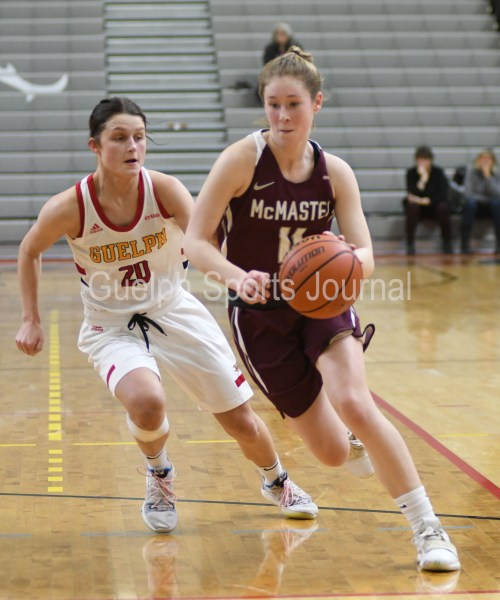 Photos: Guelph Gryphons-McMaster women's basketball