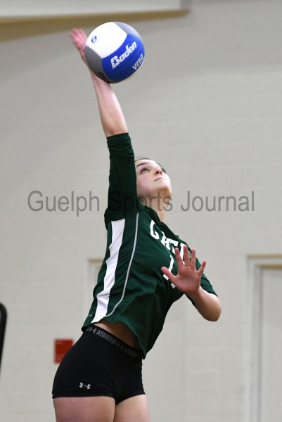 Photos: District 10 high school senior girls' volleyball final