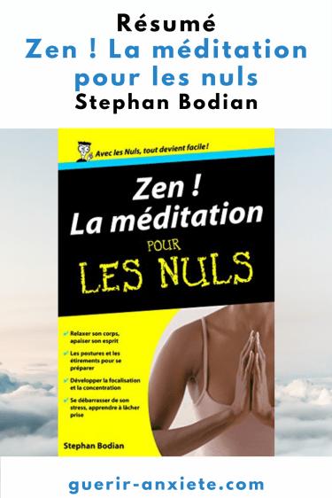 résumé zen ! la méditation pour les nuls