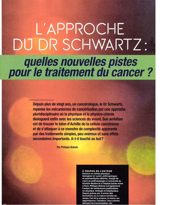 L'approche du Dr Schwartz
