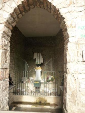 Fontaine St Régis Lalouvesc