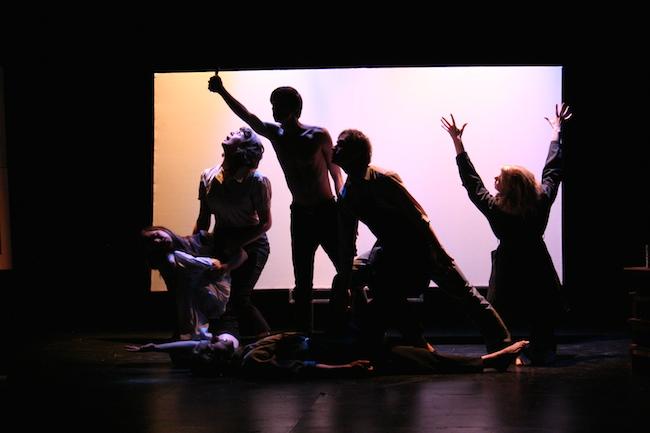 Guernica a play, 2011. Nextfest, Edmonton. Courtesy of Erika Luckert.