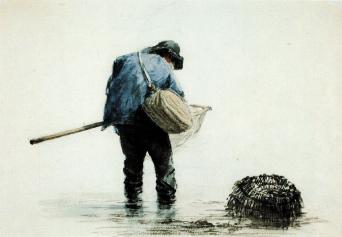 FisherManWithShrimpingNet