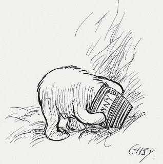 Isn't it funny how a bear likes honey?