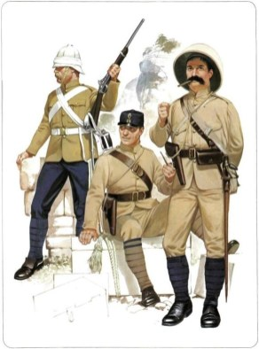 British Soldiers in 1879-1880 in Afghanistan