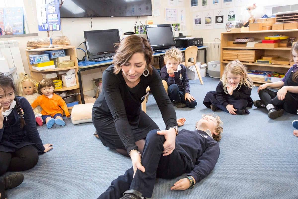 Pre School Offers First Aid Training Course To Parents