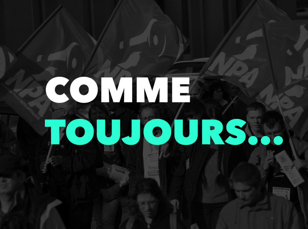 Comme toujours…