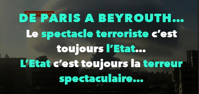 DE PARIS A BEYROUTH…