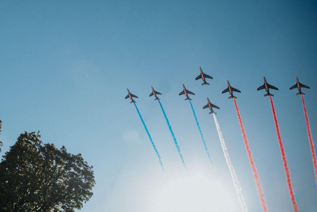 Parade aérienne du 14 juillet