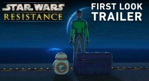 Star Wars Resistance primo trailer online.