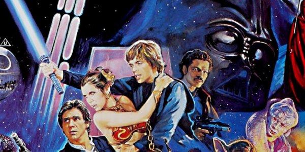 Concept art in vista dell'uscita de Il Ritorno dello Jedi nel 1983.
