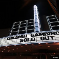 Childish Gambino @ The Hollywood Palladium (08/10/12)