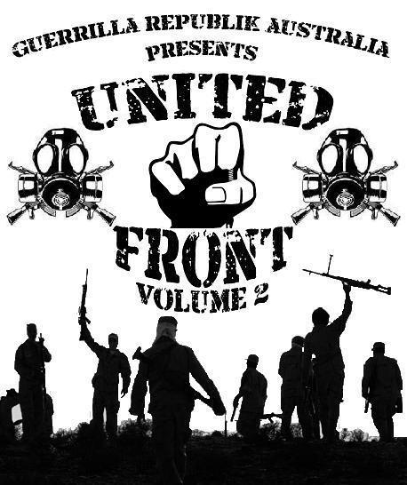 UNITED FRONT VOL/2 GUERRILLA REPUBLIK AUSTRALIA