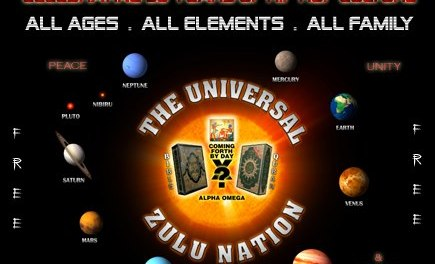 39TH UNIVERSAL ZULU NATION & 38TH HIP HOP CULTURE ANNIVERSARY YOUTH AND FAMILY DAY