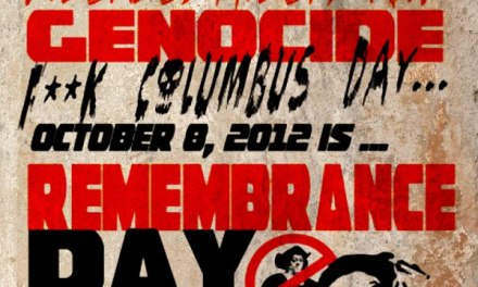 OCT 8TH INDIGENOUS PEOPLE DAY OF THE AMERICA'Z