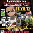 8pm:Drop Squad Kitchen: 9pm Knowledge is Power Radio