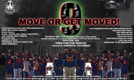 MOVE OR GET MOVED! : HOSTED BY IMMORTAL TECHNIQUE MAY 11TH AT DREXEL UNIVERSITY