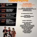 "June 9, 2013 on Harmoni Posesif ""Social Live Festival"" with Guerrilla Republik Indonesia"
