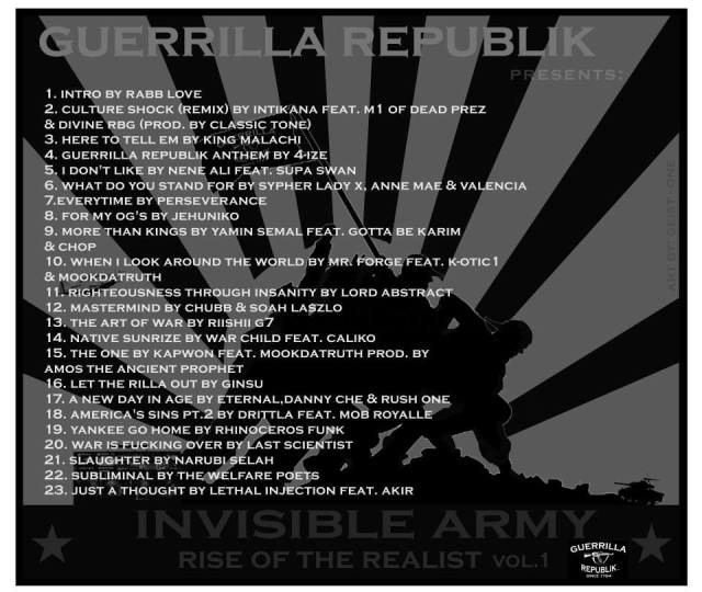 BACK COVER INVISABLE ARMY