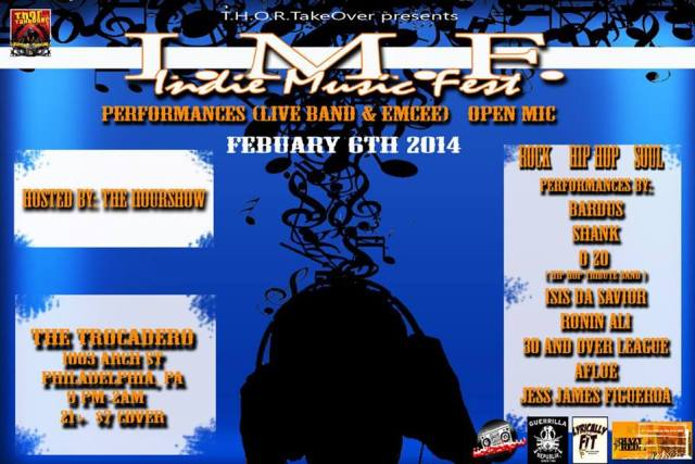 INDIE HIP HOP FEB 6
