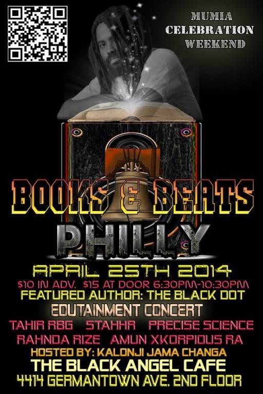 books and beats mumia