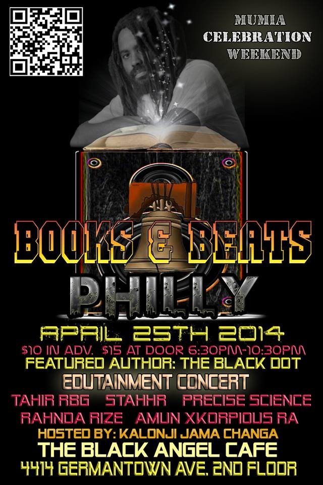 books and beats mumia