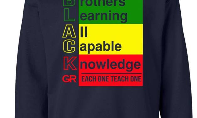 B.L.A.C.K. ~ BROTHERS.LEARNING .ALL.CAPABLE. KNOWLEDGE ( GR EACH ONE TEACH ONE EDITION )