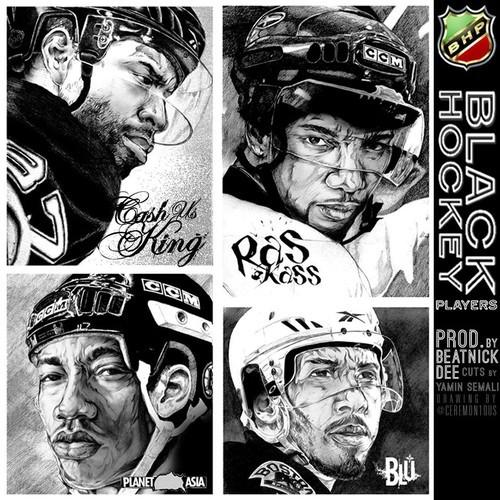 Black Hockey Players feat. Planet Asia, Ras Kass & Blu (Prod. Beatnick Dee/Cuts by Yamin Semali)