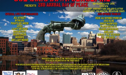 #302GUNS DOWN : 2nd Annual Day of Peace, SEPT 24TH AT Judy Johnson Park