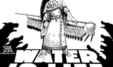 MAKE A STAND : WATER IS LIFE , NO DAKOTA ACCESS PIPELINE