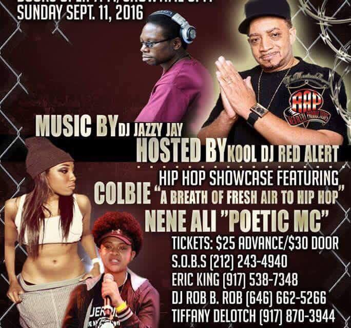 THE GOLDEN AGE OF HIP HOP PT 6 HOSTED BY DJ RED ALERT WITH NENE ALI AND MORE