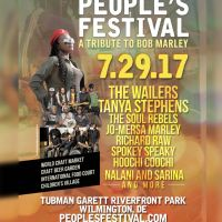 23RD ANNUAL PEOPLE'S FESTIVAL : A TRIBUTE TO BOB MARLEY 7/29/17 WITH THE ORIGINAL WAILERS