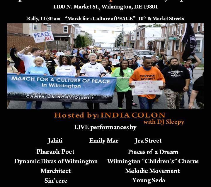 #302GUNSDOWN : 3RD ANNUAL DAY OF PEACE 9/23/17
