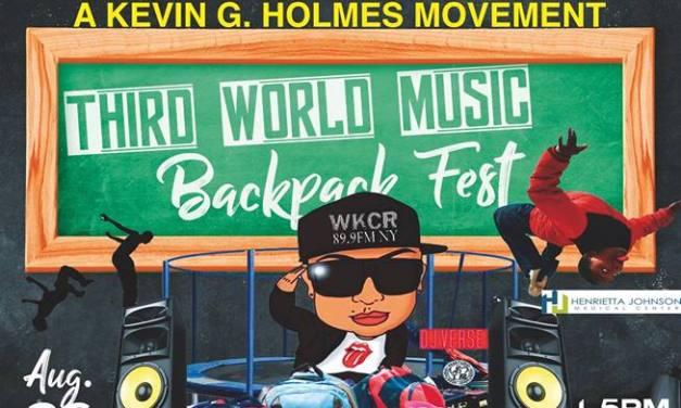 THIRD WORLD MUSIC : BACKPACK FEST AUG 26, 2018