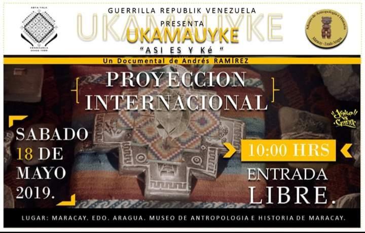 "GUERRILLA REPUBLIK VENEZUELA : PRESENTA UKAMAUYKE "" ASI ES Y KE "" 5/18/19"