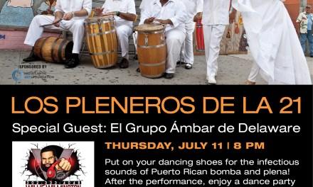 LOS PLENEROS DE LA 21 : JULY 11TH AT THE DELAWARE ART MUSEUM
