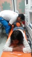 Tres personas de la Zona 12 fueron heridas por perdigones disparados por la policía en Plaza San Martin