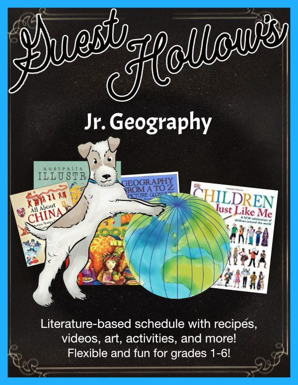 Guest Hollow's Jr. Geography Curriculum
