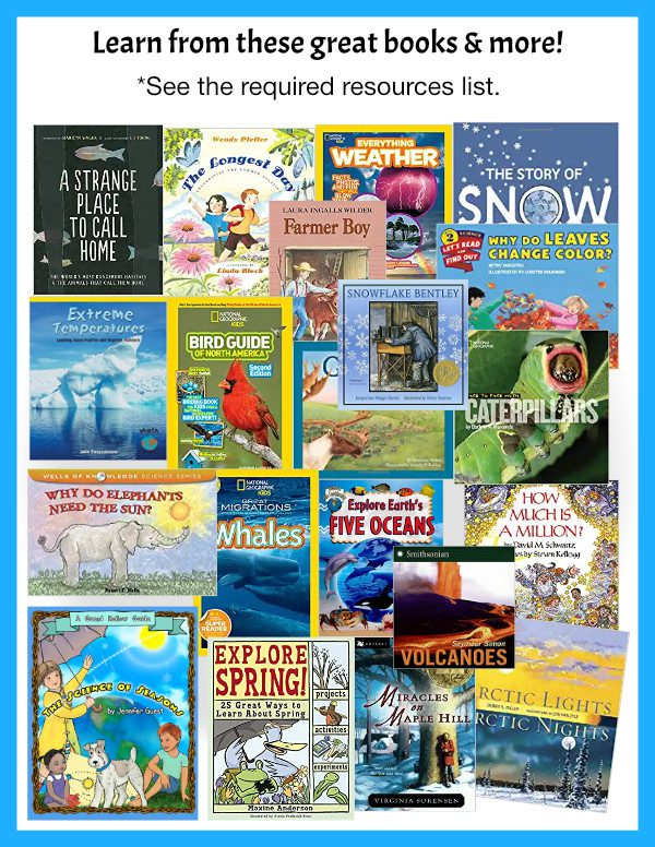 Science of the Seasons Curriculum books