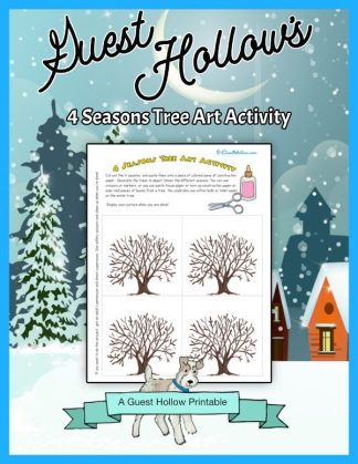 4 seasons art activity