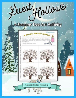 4 seasons art activity